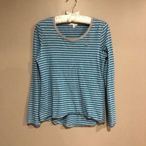 Sale 🎀 Striped Lacoste tee